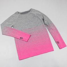 32b1c34ee8a66 Autumn Winter Fitness Yoga Top t Shirt Women Quick-Dry Long Sleeve Running  Shirt Female Workout Gym Shirts Sport Jacket Women