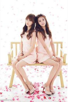 에이핑크 초롱와 보미 (a pink members chorong & bomi)