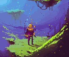 30 Inspirational and Pixel Artworks Pixel Art Gif, 8bit Art, 8 Bits, Pixel Art Games, Pixel Design, Arcade, Oeuvre D'art, Game Design, Les Oeuvres