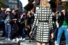 Street Style and Fashion Photography Balmain, Peplum Dress, Fashion Photography, Street Style, Paris, Dresses, Vestidos, Montmartre Paris, Urban Style