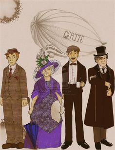0795 df37 500. A dirigible Gertie!! Cabin Pressure fan art.