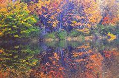 Horn Pond in Massachusetts