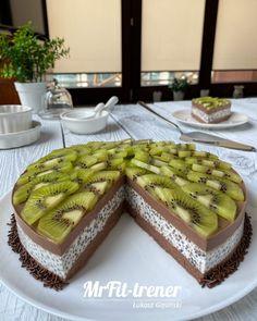 Przepisy - Trener personalny McFit | Warszawa | Łukasz Gąsiński Gluten Free Desserts, Lchf, Cheesecakes, Waffles, Pudding, Sweets, Breakfast, Fitness, Diet