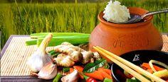 Thai Küche, Essen & Trinken. #Kräuter #CurryPaste #Gewürze #Kräuter #Kurkuma #Gewürze