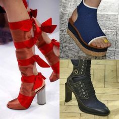 Just in case you missed the SS17 shows, there are plenty of round ups available online so you can see what you should be adding to your wardrobe right now.  Block heels and flatforms have been popular on the catwalks and kitten heels have made a come back too.  Here's a good round up of the shoes from Elle magazine and a few that have stood out to us.  http://www.elle.com/fashion/trend-reports/g28722/spring-2017-shoe-trends/?slide=57  #ss17 #fashion #shoes #shoestagram #afterheels