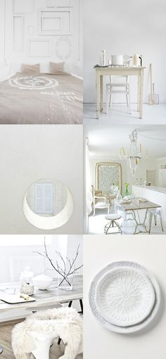 white_white Country Cottage Interiors, Black Books, Cottage Ideas, White White, Style Guides, Collages, Favorite Things, Sweet Home, Shabby Chic