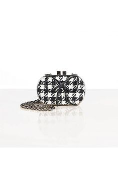 CYRIELLE - coin purse - Weill Saved Items, Houndstooth, Coin Purse, Stud Earrings, Purses, Chain, Jewelry, Handbags, Jewlery