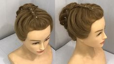 3 Awesome Hairstyles for Festive Season : Beautiful Hairstyles hey girls learn these very beautiful festive season hair Five Minute Hairstyles, Low Bun Hairstyles, Easy Hairstyles For Long Hair, Indian Hairstyles, Beautiful Hairstyles, Reverse French Braids, Bridal Hairstyle Indian Wedding, Hair Wedding, Wedding Dresses