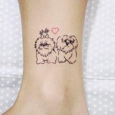 A nossa seleção de tatuagens de cachorroSeu amigo de quatro patas muito bem representado: aquarelado, discreto ou ousado, você escolhe...