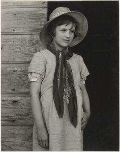 Luzzara, Italy / [Farmer's Daughter, Luzzara, Italy] / [Portrait of Angela Secchi]; Paul Strand (American, 1890 - 1976); 1953; Gelatin silver print; 14.9 x 11.8 cm (5 7/8 x 4 5/8 in.); 86.XM.683.24; Copyright: © Aperture Foundation