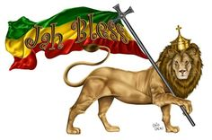 The Lion of Judah is a sacred symbol in the Rasta belief system.