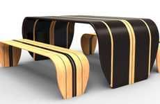 surfboard tables ...