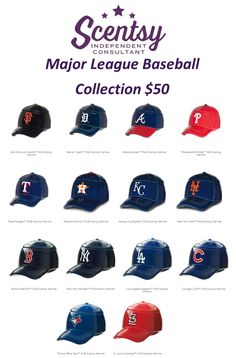 Major League Baseball Scentsy Warmers Http://jberinger.scentsy.us