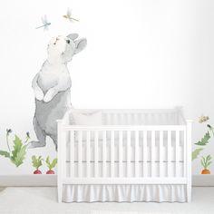 Big Curious Bunny Wall Decal – Shop Project Nursery