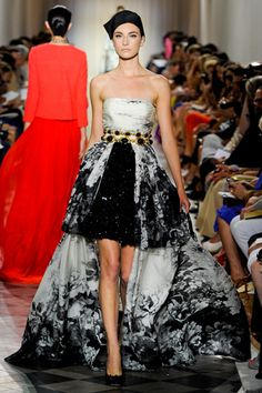 Fall 2011 Couture  Giambattista Valli - Runway