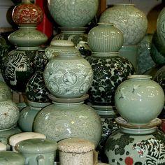 Finished Celadon Pottery | Korea