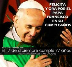 Que te bendiga el Señor querido vicario de Cristo!!!
