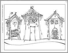 Check out how to draw a Zenspirations® Dangle Design house in this week's Zenspirations blog, and get a jump start on our big anniversary contest. A House Filled with Love - Zenspirations