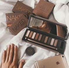girl, indie, brown, makeup, beautiful, #iphone #hands #goals