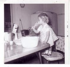 Remember when your Mom would bake and you got to lick the beaters without someone freaking out because it may contain raw eggs?
