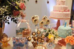 decoracao mesa doces festa bailarina