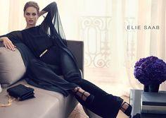 Первый кадр рекламной кампании Elie Saab