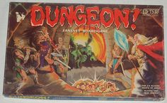 Vintage Extremely Rare 1981 Dungeon Fantasy Boardgame by TSR Hobbies Inc., via Etsy.