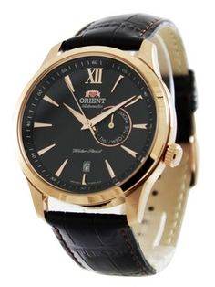 Orient Automatic Men's Watch has Brown Dial with Date Display, looks so perfect.