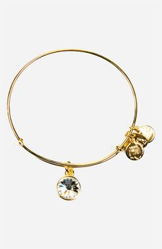 Alex and Ani 'Birthstone' Expandable Wire Bangle | Nordstrom