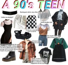 How to shop for grunge fashion shops Grunge Outfits, Outfits Casual, Retro Outfits, Mode Outfits, Vintage Outfits, 90s Style Outfits, 80s Fashion, Grunge Fashion, Fashion Outfits