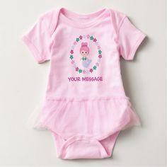 #cute #baby #bodysuits - #Customized Cute Mermaid Tutu Creeper in Pink