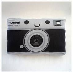 Hey, I found this really awesome Etsy listing at https://www.etsy.com/listing/77594498/retro-pillow-camera-pillow-black-and