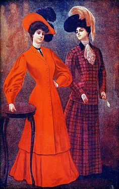 October 1904 Fashion by christine592, via Flickr