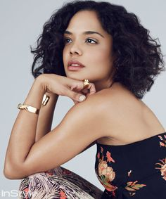 Get to know Creed star Tessa Thompson.