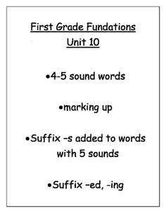 Here are some extra exercises that will promote success if you are using the Fundations phonics program in your classroom. This can be used for seat work, homework, or working together whole group. I hope you find this helpful!