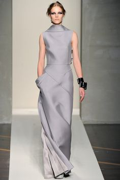 Gianfranco Ferré Fall 2012 Ready-to-Wear Fashion Show - Suvi Koponen