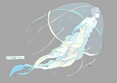 Character Inspiration, Character Art, Character Design, Disney Fan, Disney Pixar, Anime Mermaid, Demi Human, Elsword, Merman