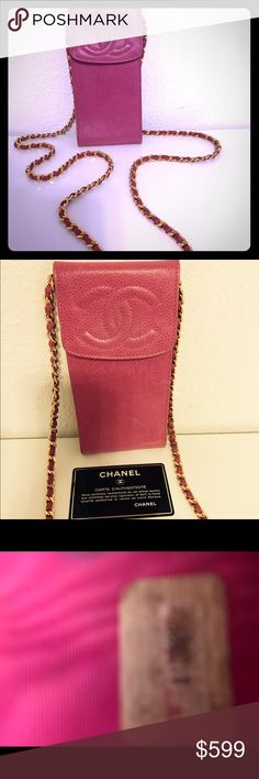 """Authentic CHANEL Bubblegum Pink Purse Beautiful authentic Chanel - a timeless piece. Can be layered with other purses, used classy for a night out or casual during the day. Stunning and vintage beyond words. 💕 💕💕💕 Comes with authentication card. 6 1/2"""" H, 3 1/2"""" W, 3"""" Depth CHANEL Bags Crossbody Bags"""