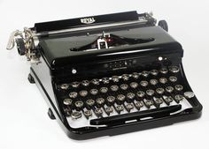1930's Royal Touch Control Manual Typewriter with by BrooklynRetro, $300.00