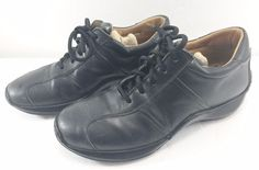 Coach Black Leather Fashion Sneakers Mens 9.5 Made in Italy #Coach #FashionSneakers
