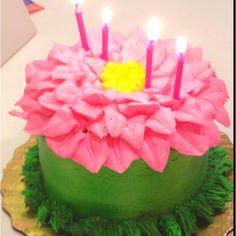 Little girl birthday cake.