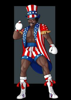 This is a piece a guy asked me to do of Apollo Creed from the Rocky movies. He was played by the amazing Carl Weathers apollo creed Rocky Legends, Rocky Balboa Poster, Rocky Film, Kobe Bryant Michael Jordan, Creed Movie, Apollo Creed, Silvester Stallone, Carl Weathers, Boxing Posters