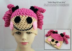 Lalaloopsy inspired hand crochet hat in by LittleShopOfLostArts, $26.00