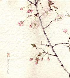 Японские акварели итальянской художницы - Ярмарка Мастеров - ручная работа, handmade