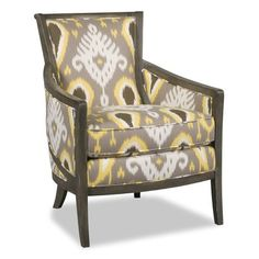 Sam Moore Kamea Exposed Wood Arm Chair Finish: Classic, Upholstery: 2603 Oatmeal