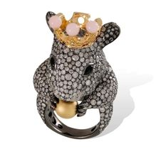 Lydia-Courteille-Animal-Farm-Mouse-Ring.jpg (780×697)