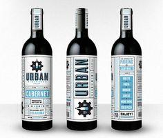 Urban Wineworks wine labels