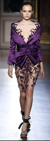 find out how to interpret this Zuhair Murad - 2011/2012 look for your closet