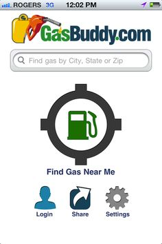 gas tracking app iphone