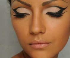 Awesome eye makeup <3